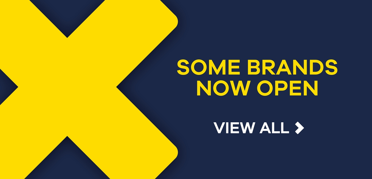 Some Brands Now Open at Xscape Milton Keynes