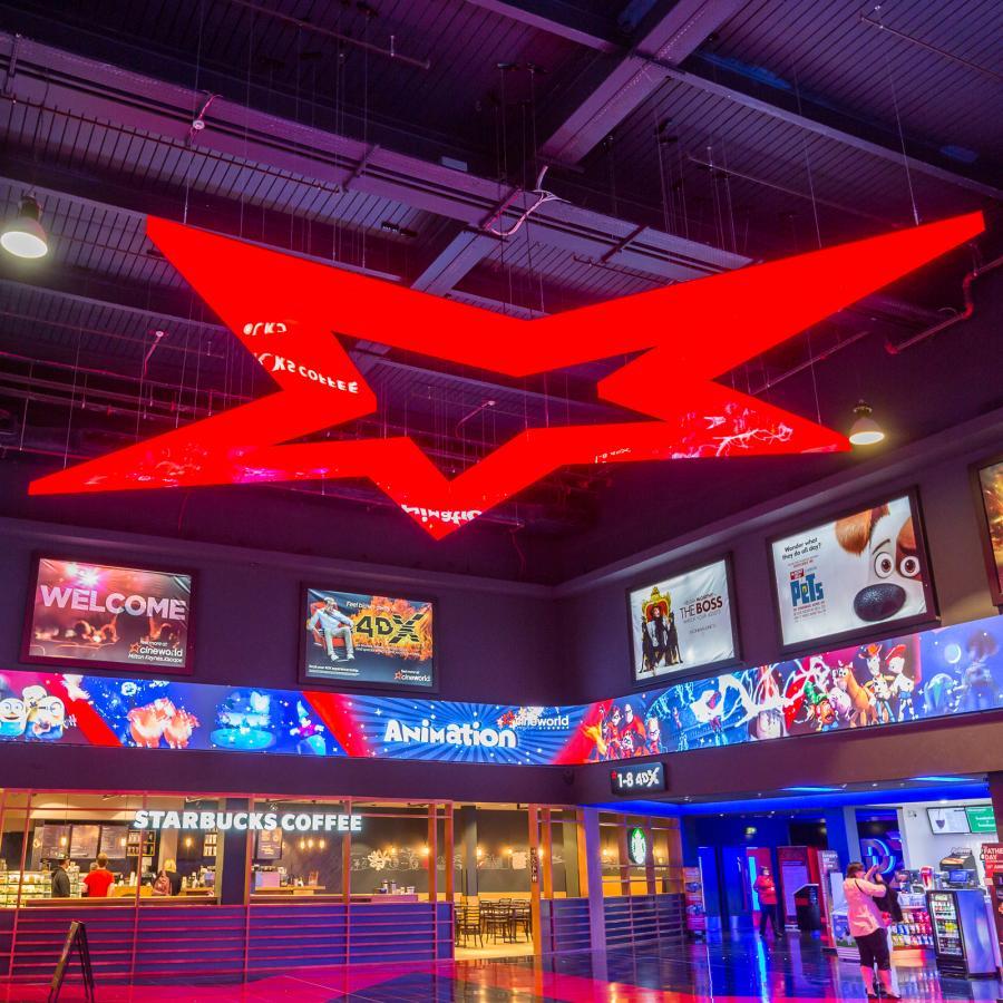 Cineworld Milton Keynes Movies Popcorn