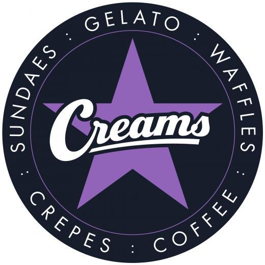Creams Cafe logo