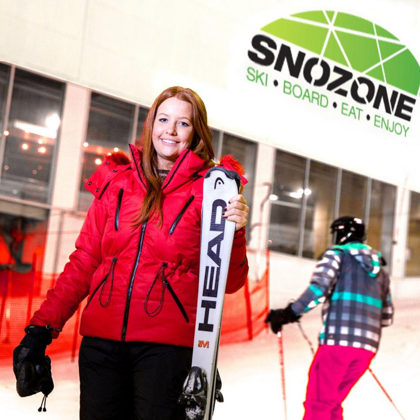 Snozone indoor skiing Xscape