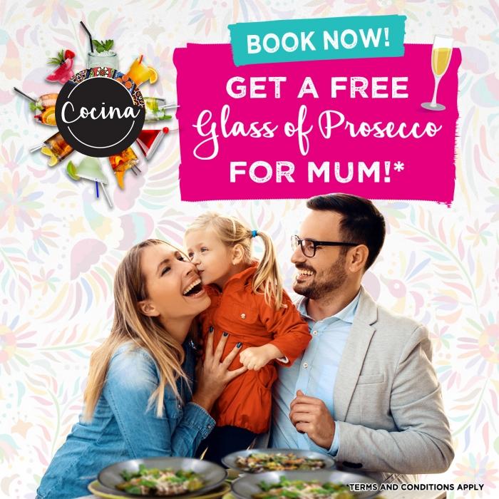 Celebrate Mum at Cocina