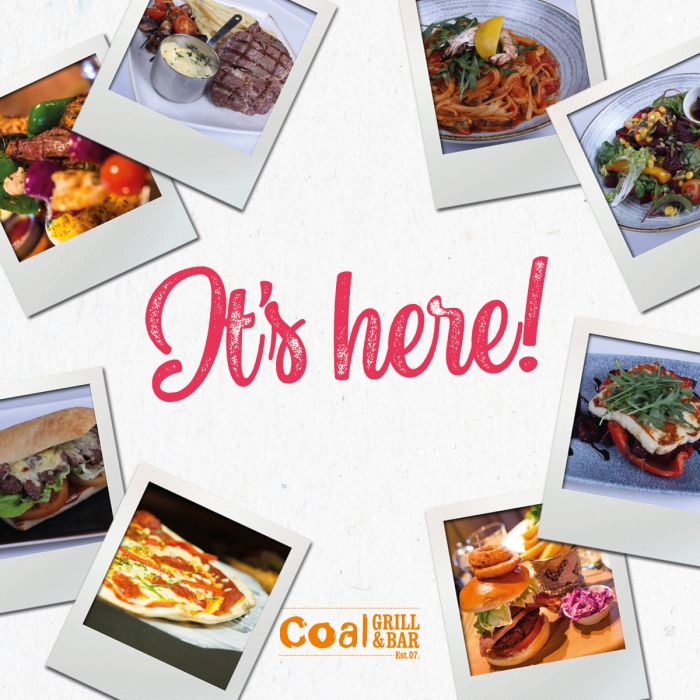 Coal Grill & Bar's New Menu