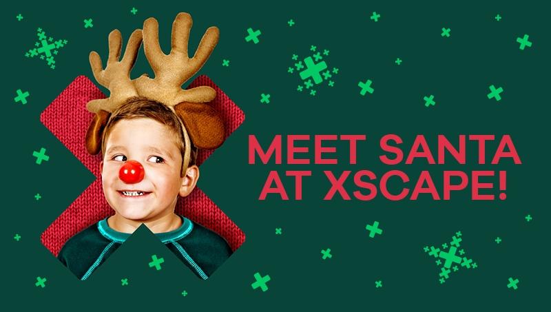 Santa at Xscape