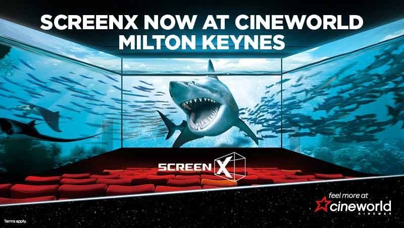 Screen X - A New Experience at Cineworld!