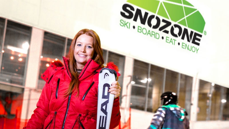 Snozone: Real Snow Slope