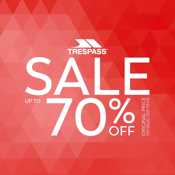 SALE into Summer at Trespass